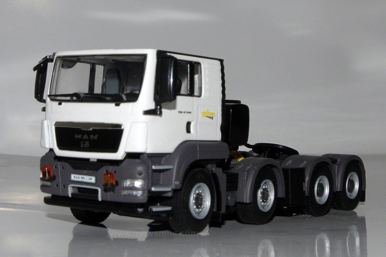 MAN TGS 4-axle tractor