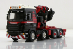 Scania 8x4 with Fassi crane