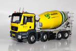 MAN TGS concrete mixer