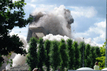 Implosion VH building Eindhoven